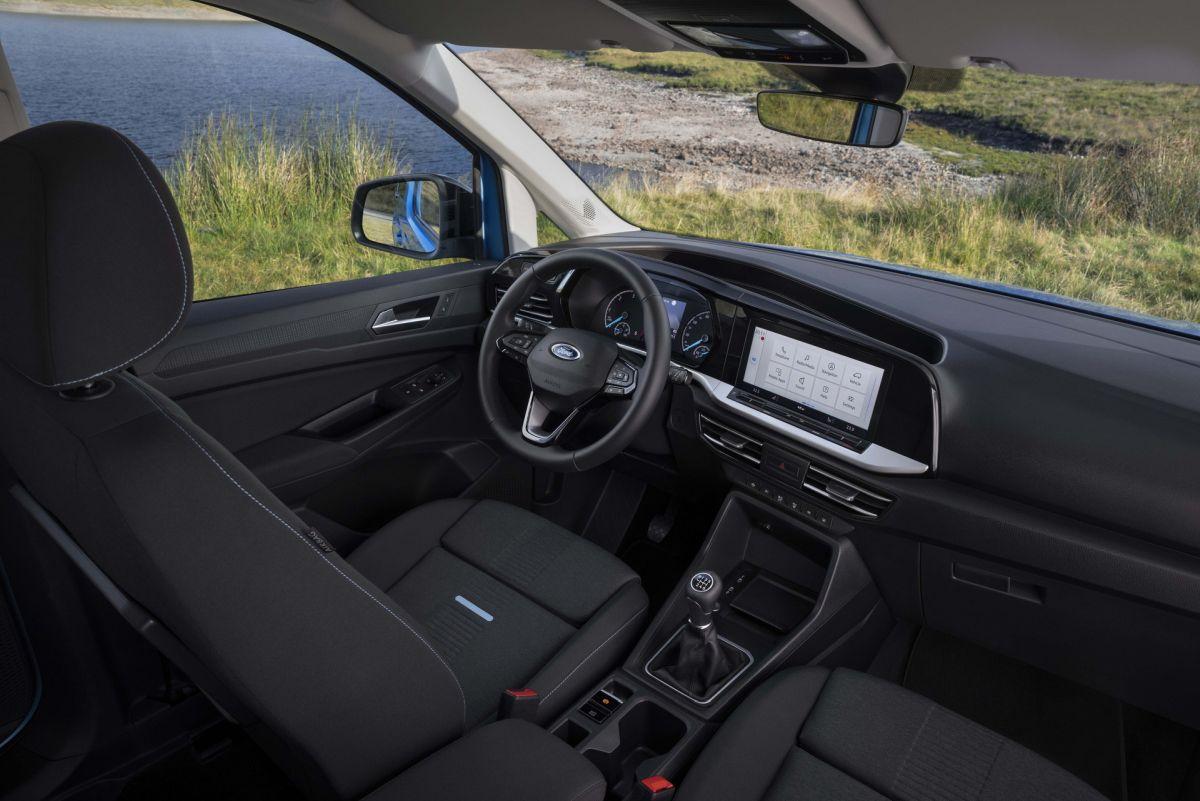Ford Tourneo Connect 2022 - wnętrze