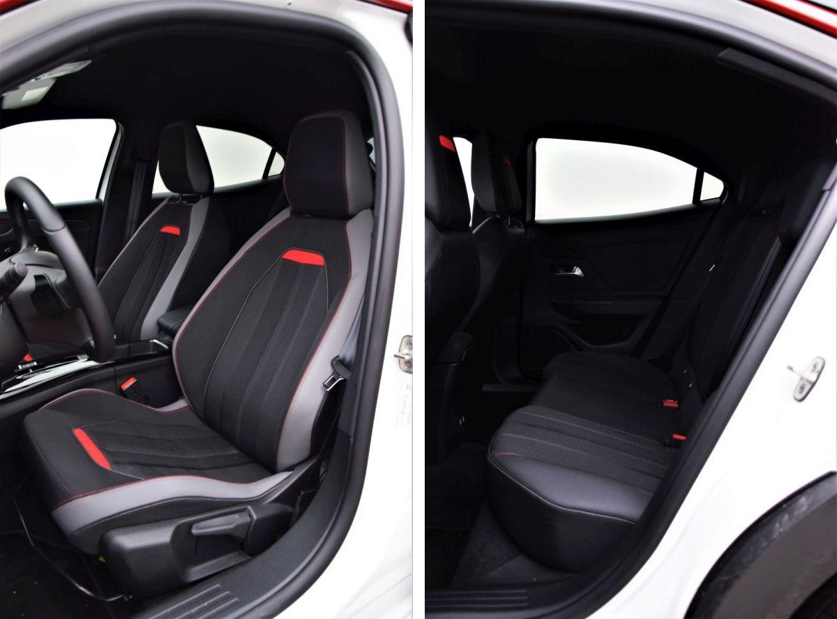 Opel Mokka 2021 - fotele
