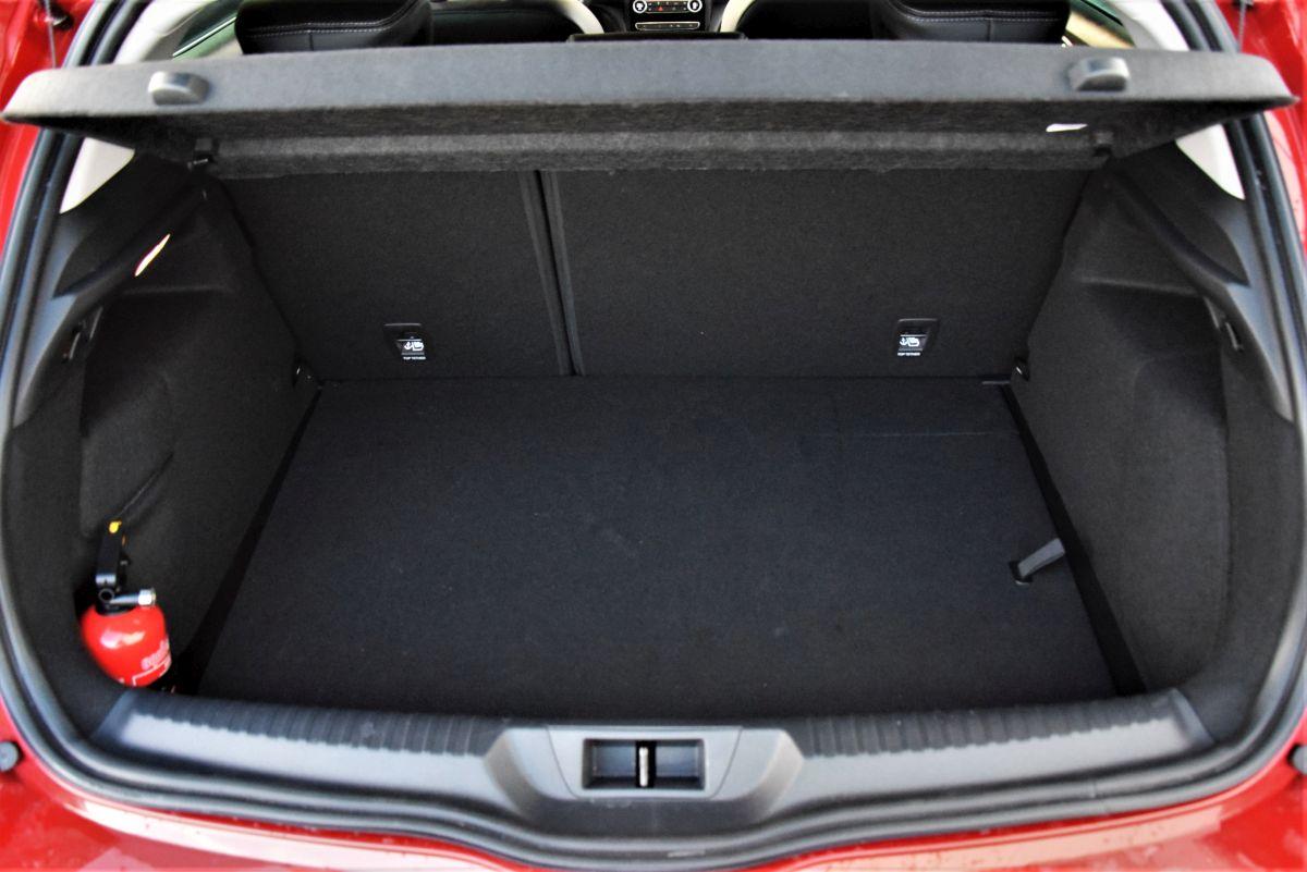 Renault Megane E-Tech - bagażnik