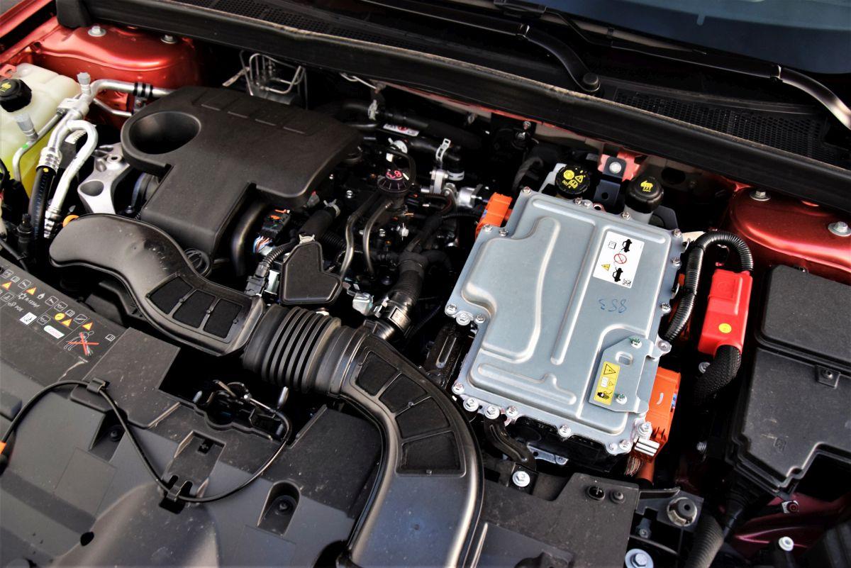 Renault Megane E-Tech - silnik