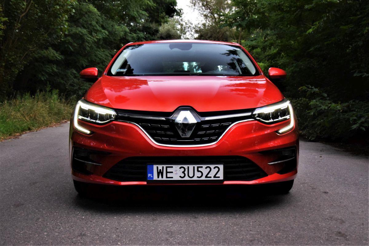 Renault Megane E-Tech - przód
