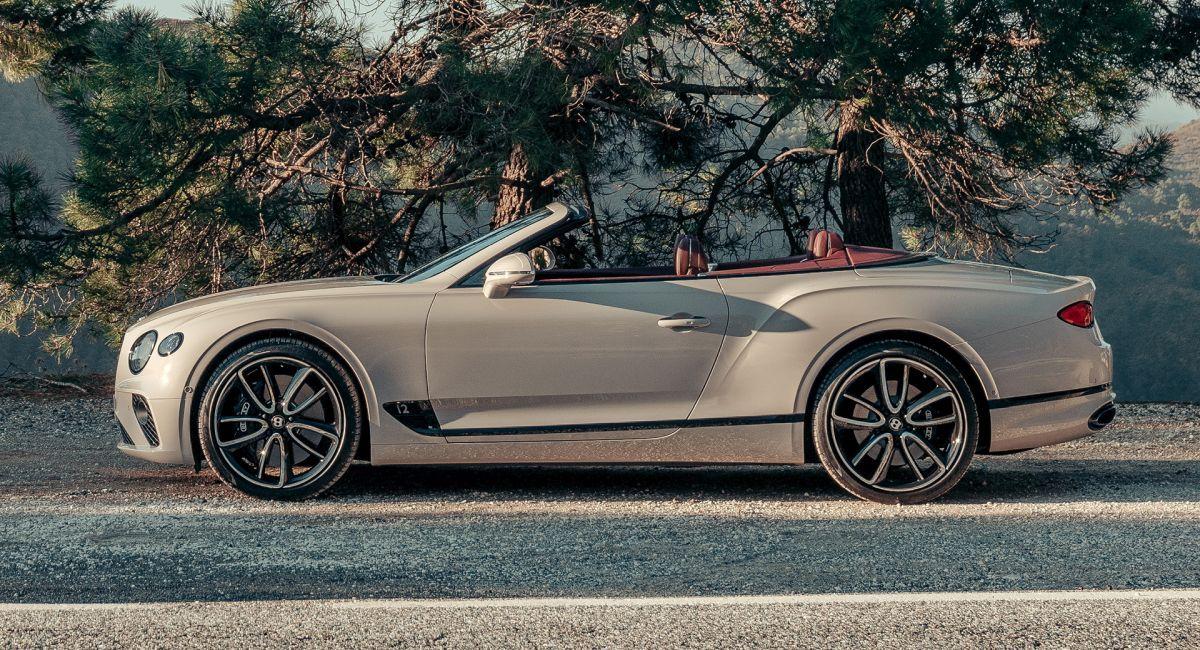 Bentley Continental Dove Grey
