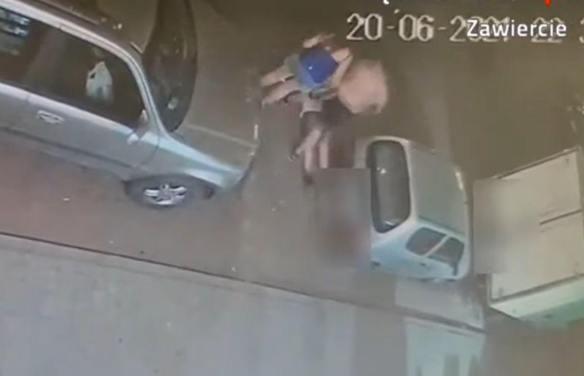 Atak na nastolatka w Zawierciu