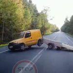 Nieudany transport za dużego ładunku