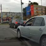 Agresywny kierowca w Łodzi
