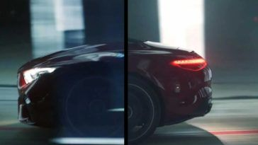 Mercedes-AMG SL 2022 teaser