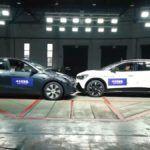 Volkswagen ID.6 i Tesla Model Y - test zderzeniowy