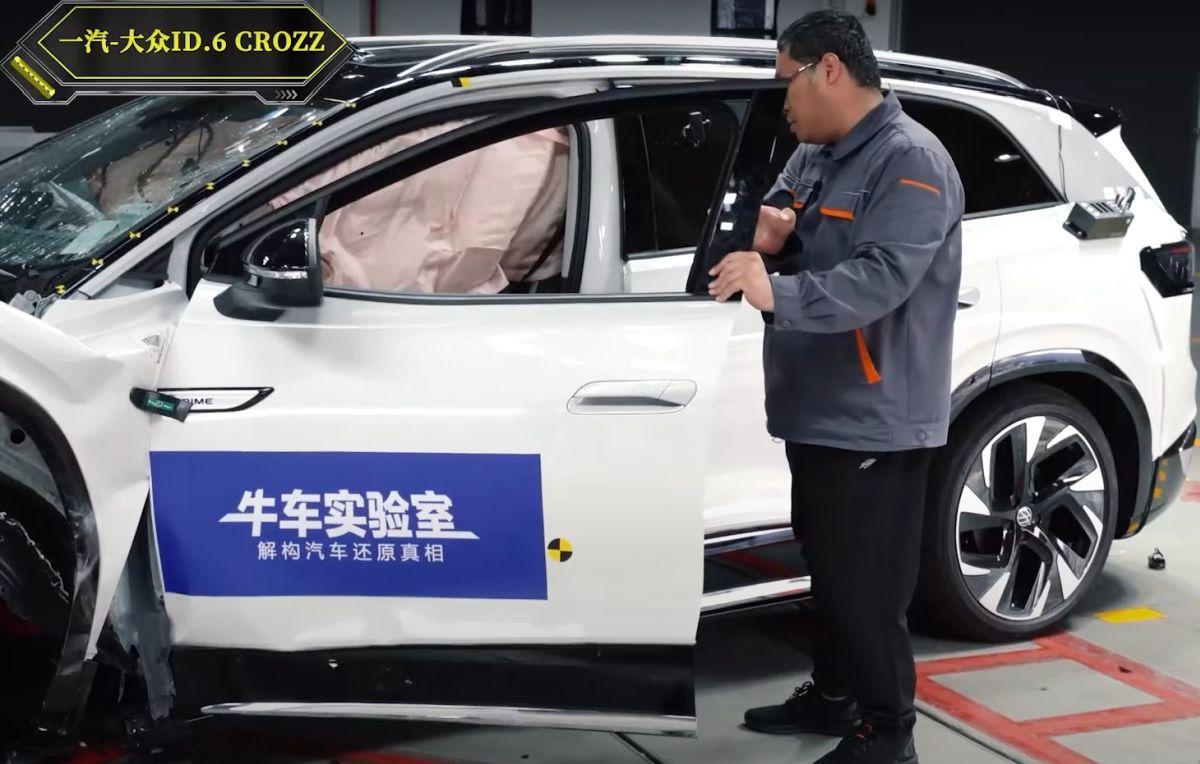 Volkswagen ID.6 crash test