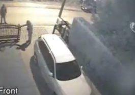 Kradzież BMW X5 na walizkę we Wrocławiu